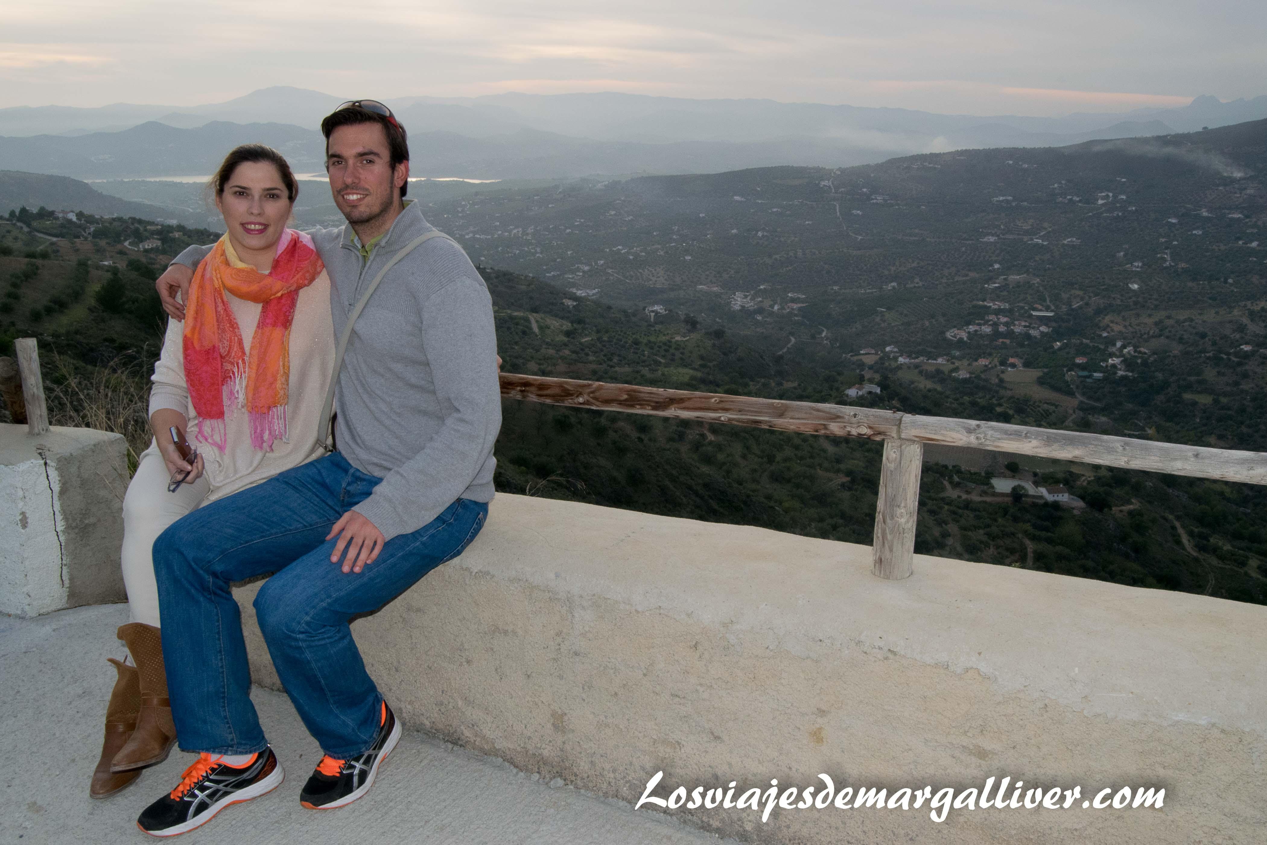 Desde el área recreativa de Alcaucín, en la Axarquía - Los viajes de Margalliver
